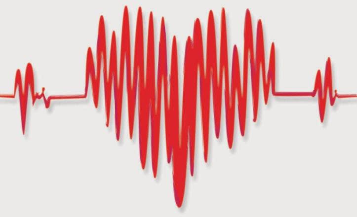 electrocardiograma, electro, corazón, médico, rojo, amor