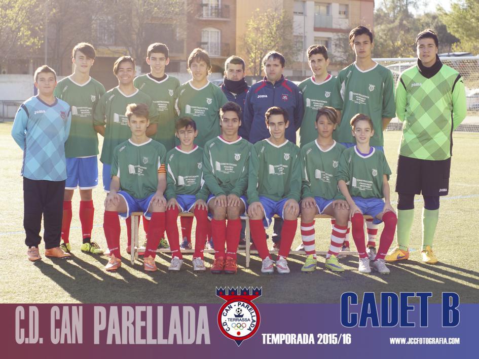 CADETE B. C.D.CAN PARELLADA 2015-16