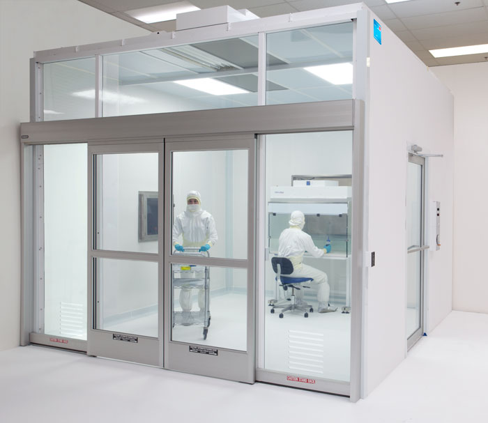 The Vertical Inflow Prefabricated Modular Cleanroom