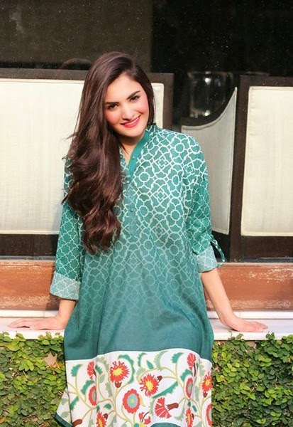Ayesha Khurram Digital Print Collection for Midsummer 2014