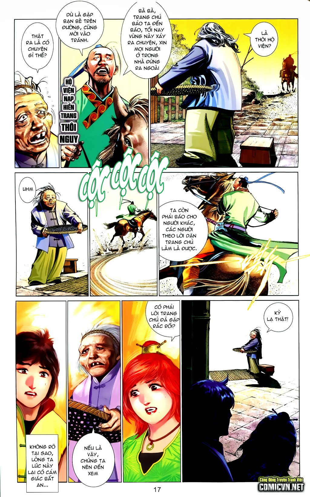 Phong Vân Chap 663 - Trang 17