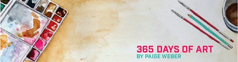365 Days of Art by Paige Weber
