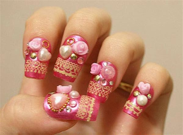 One hundred styles japanese nail art gallery a vancouver japanese nail art makes use of either a nail extension which is an acrylic nail chip or an artificial nail which you can glue on top of your prinsesfo Choice Image