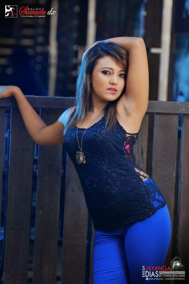 Shani Shenaya Wickremasinghe sexy jeans