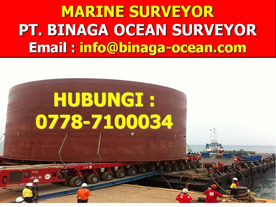 0778-7100034 Marine Surveyor PT.Binaga Ocean Surveyor (BOS)