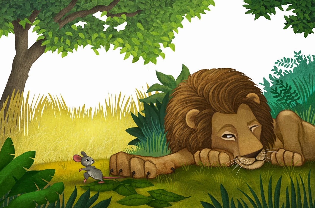 the lion and the mouse This is a short story on friendship, friendship of the mouse and and lion, who, despite their obvious dissimilerities, help each other and become great friends.