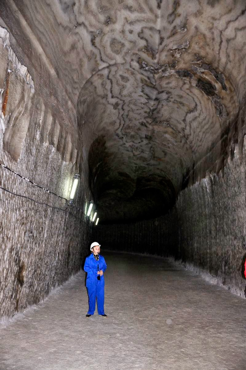 "Soledar is a town which name stands for ""gift of salt"". We visited its major sight: the underground galleries and chambers of salt mines"