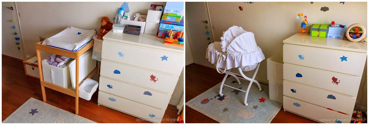 agencer et mijoter id e d co r organiser une chambre pour l arriv e d un second enfant. Black Bedroom Furniture Sets. Home Design Ideas