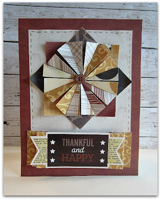 Create a Quilted look on cards