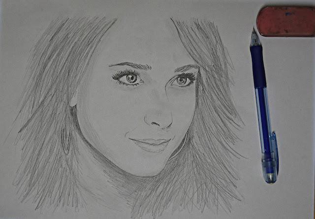 Drawing of Hayden Panettiere