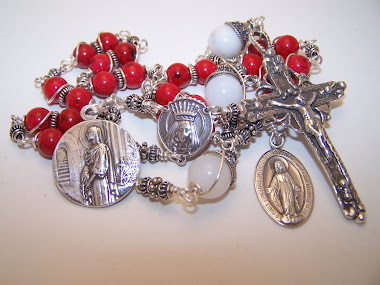 No.142.  Custom Chaplet Of Saint Philomena