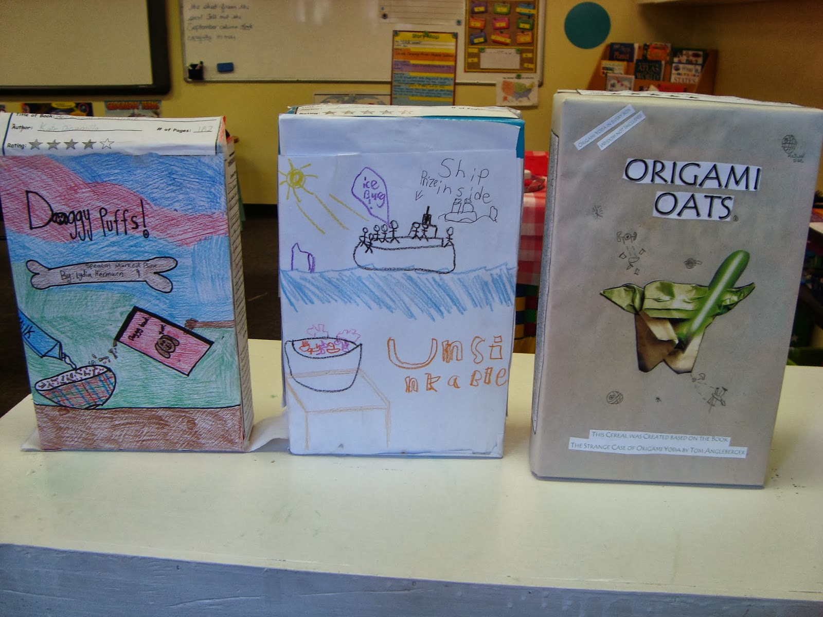 Ideas For A Cereal Box Book Report Drugerreport732 Web