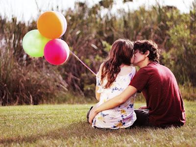 imagenes de novios con globos