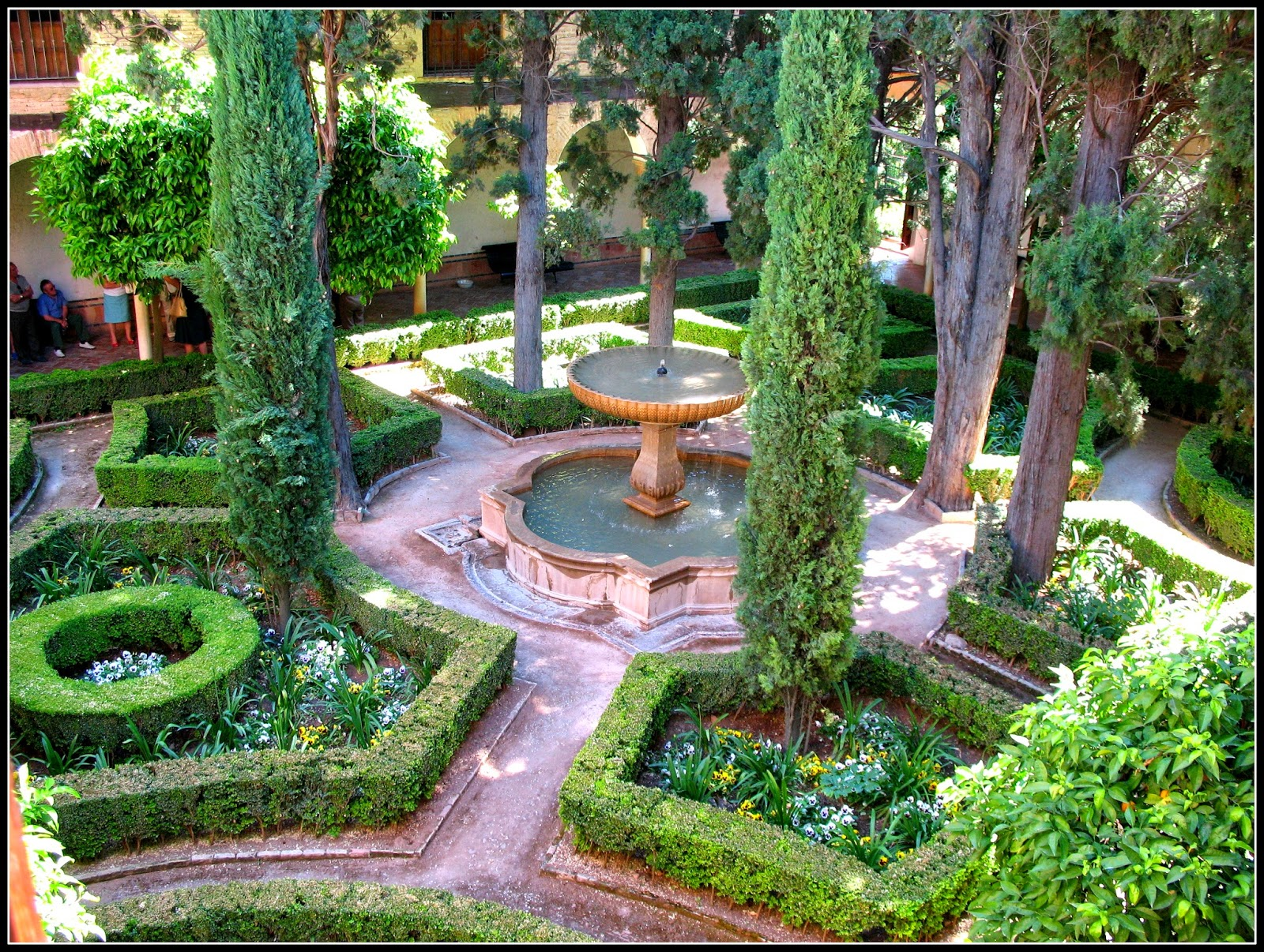 Viaje y fotos viajar con estilo for Jardin andaluz