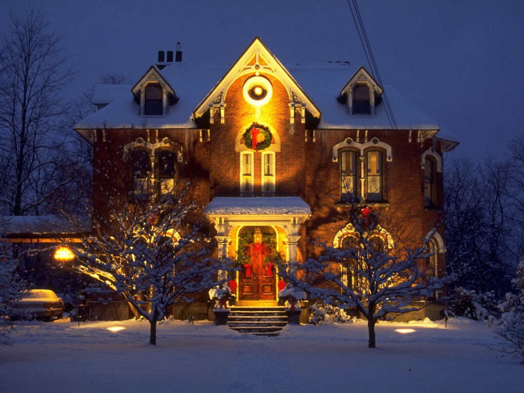 Outdoor Lighting Xmas Ideas | House Design
