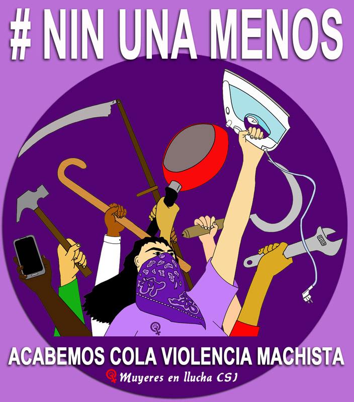 Enlace Marcha estatal contra las violencias machistas