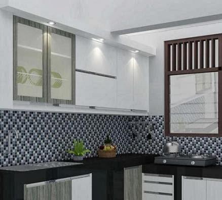 Seni desain interior exterior desain kitchen set yang for Kitchen set yang baik