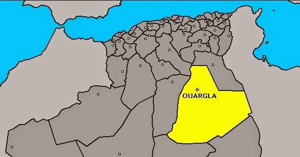 LOL DZ Désolantes Violences Entre Noirs Et Arabes Après Le - Ouargla map