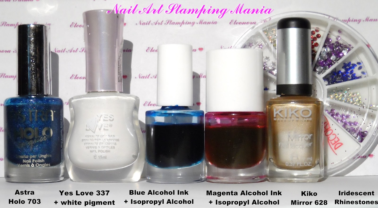 Nail Art Stamping Mania: LeadLight Technique Manicure With UberChic ...