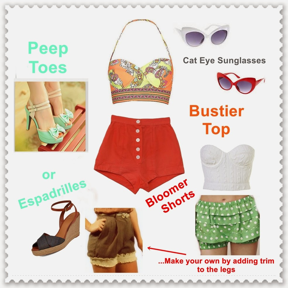 Pin Up Girl Outfit Ideas