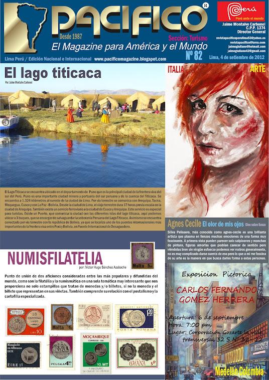 Revista Pacífico Nº 82 Turismo