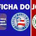 Ficha do jogo: Bahia 1x0 Goiás - Campeonato Brasileiro 2014