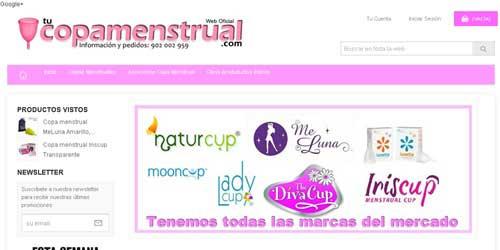 tienda online copas menstruales