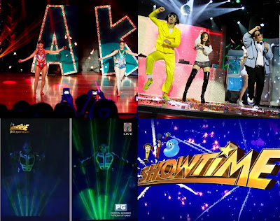 It's Showtime 3rd Anniversary Champions: Anne and Karylle, Jugs and Teddy and Billy and Vhong