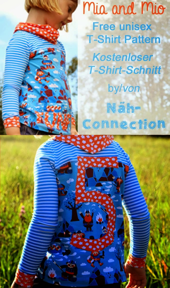 Free pattern for t-shirt