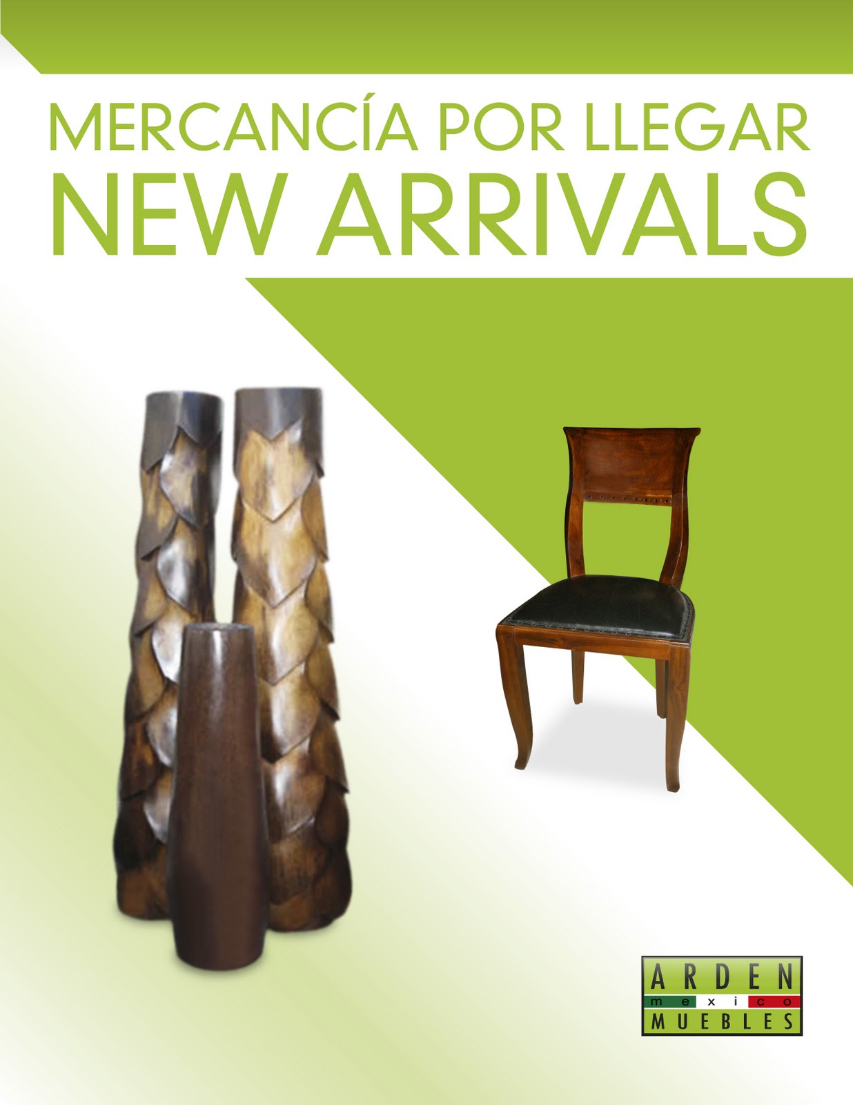 Arden casa de muebles new arrivals january 2011 for Muebles importados de china