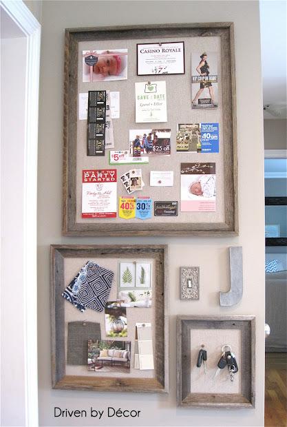DIY Bulletin Board Wall