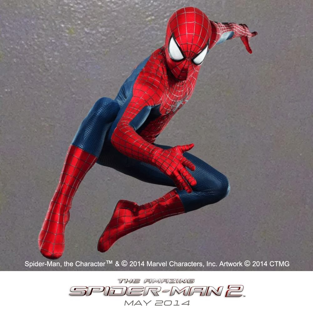 "Traje  2 Spidey en  ""The Amazing Spider-Man: El Poder de Electro"""