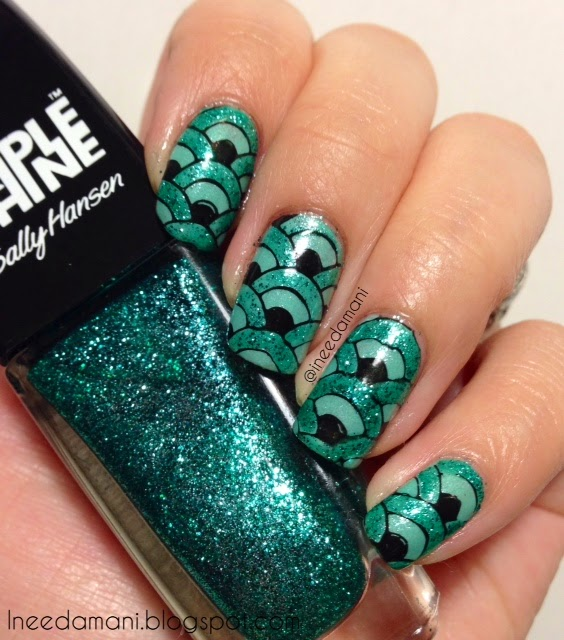 badgley mischka entrancing emerald earrings inspired nails