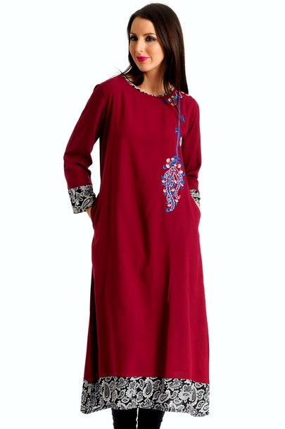 Latest Kurti Fashion For Jeans