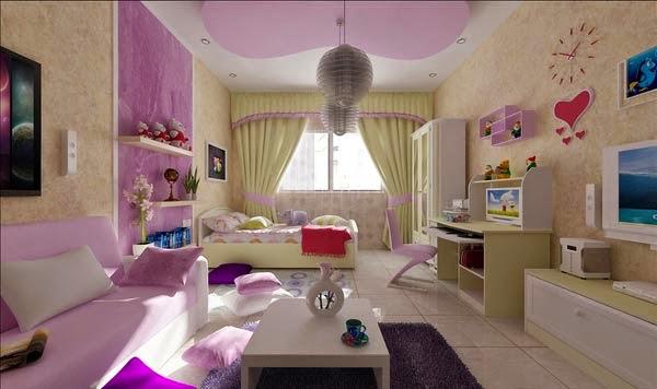 d coration de chambre des adolescents d cor de maison d coration chambre. Black Bedroom Furniture Sets. Home Design Ideas