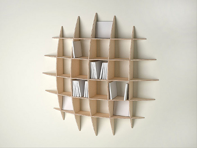 Game of Thought: Circular Wall Shelves