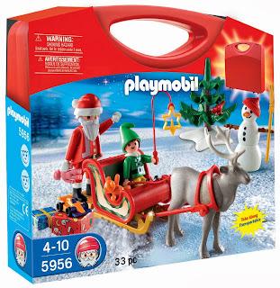 5956 maleta trineo de Papá Noel