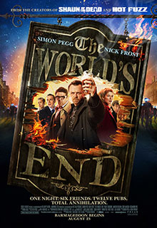 The Worlds End Movie Poster 2013