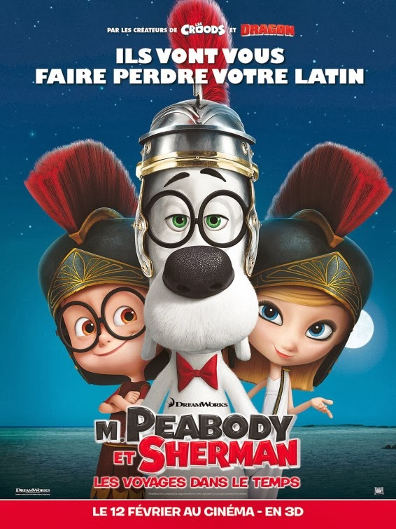As Aventuras de Peabody e Sherman – Dublado