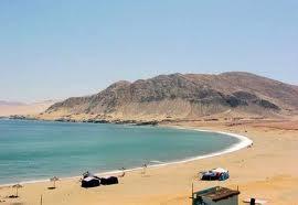 Cifuncho una playa en medio del Desierto