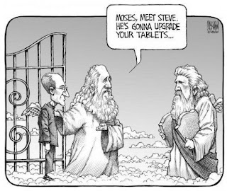 Steve Jobs to upgrade Moses's tablets