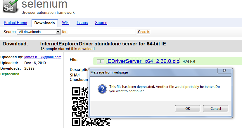 how to download a file in selenium webdriver using autoit