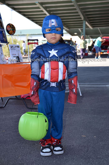 Captain America Costume for Halloween