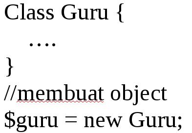 membuat object pada php oop