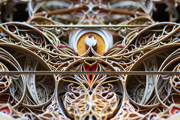 Incredible Laser Cut Paper Art by Eric Standley 2
