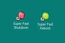 Shutdown Komputer dalam 1 detik / Cara Shutdown dengan Cepat