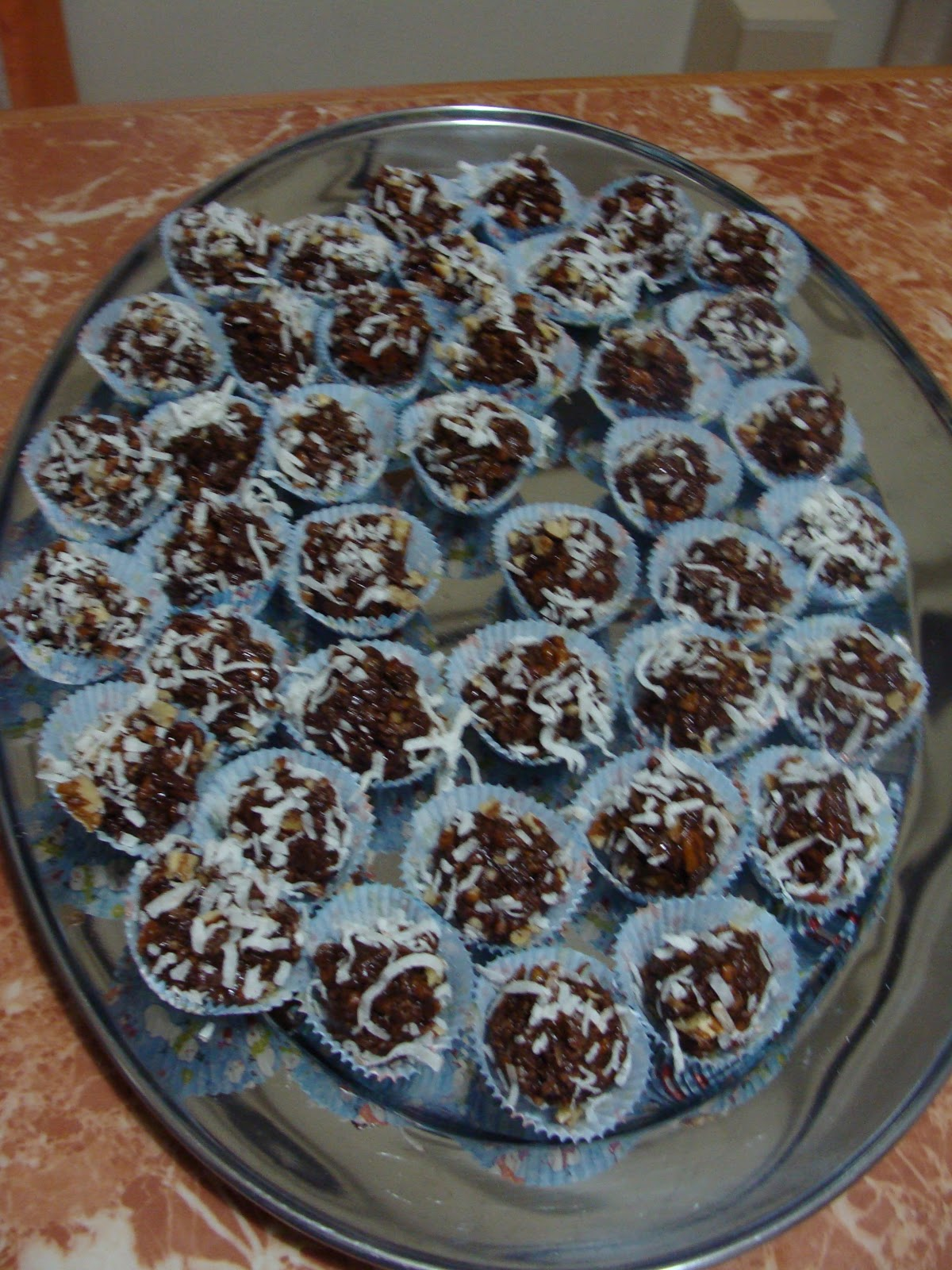Albania or Bust: The Food Files: Coconut Bourbon Balls
