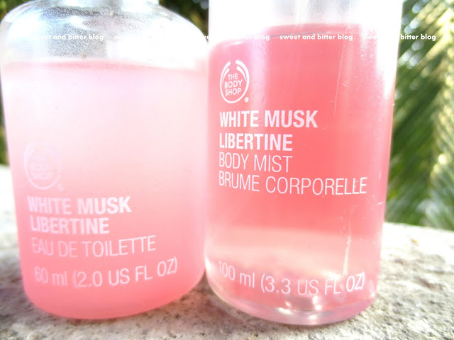 The Body Shop White Musk Libertine Eau De Toilette and Body Mist Review
