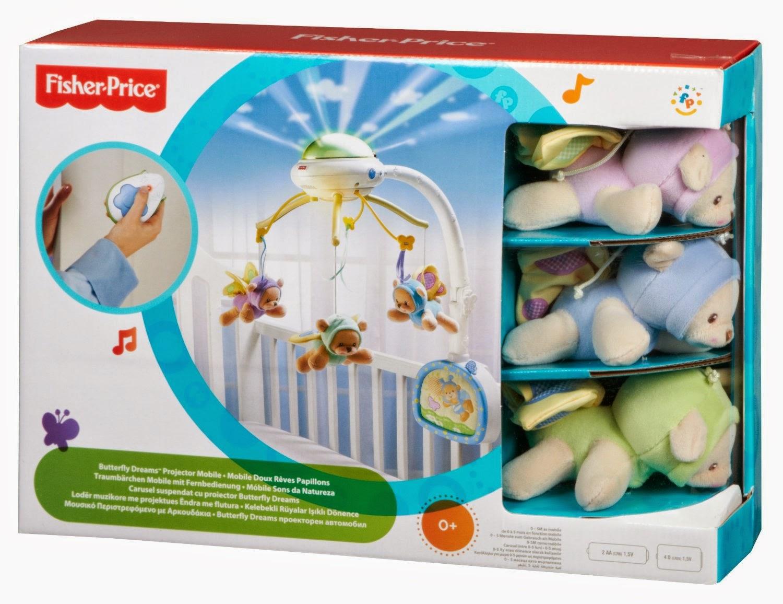 Libros y juguetes 1demagiaxfa toys bebe fisher price m vil ositos voladores con control - Fisher price cuna ...