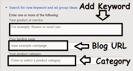 Google Keyword Planner Tool 3
